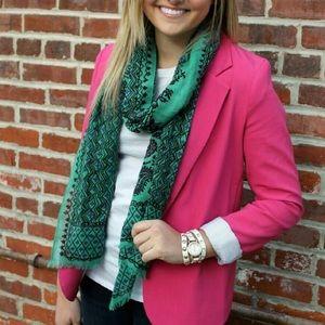 Urban Outfitters Pink Boyfriend Blazer Silence +